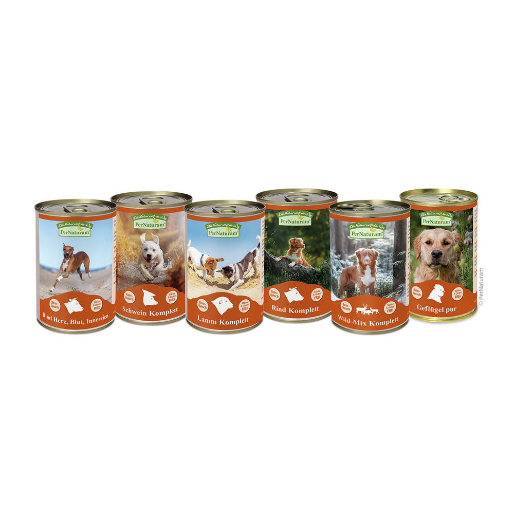 Hundefutter und Katzenfutter von PerNaturam