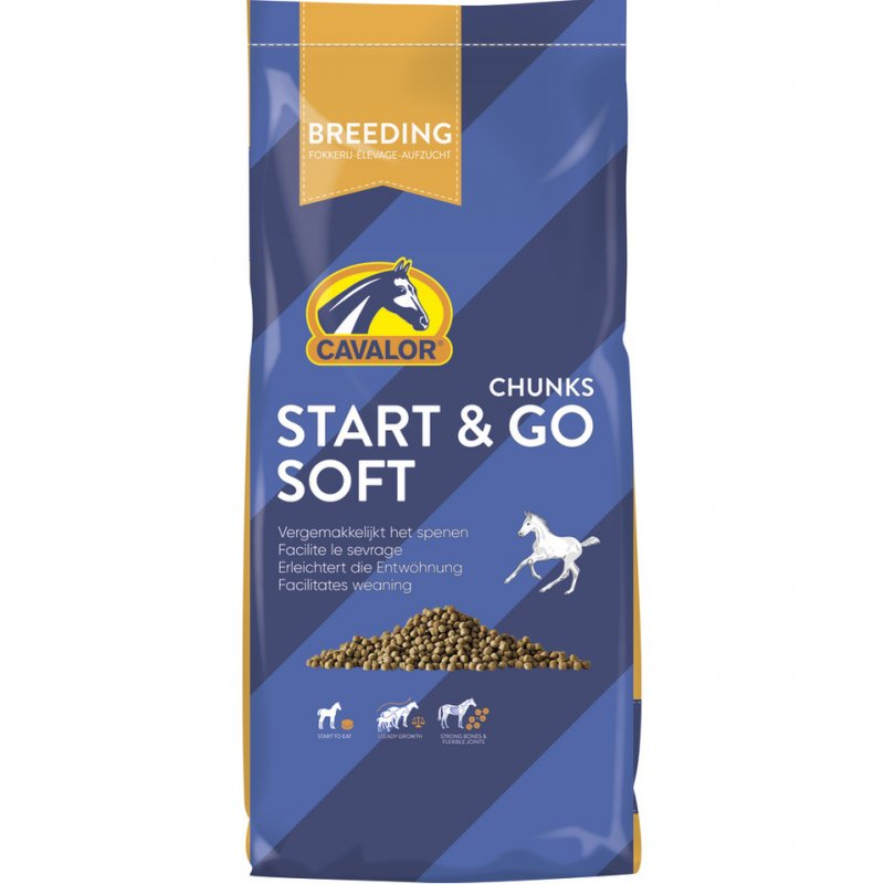 Pferdefutter Start & Go soft - Cavalor