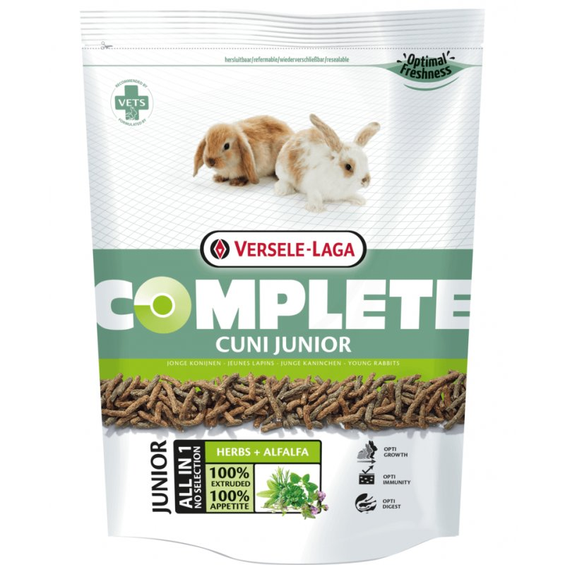 Baby Kaninchenfutter Cuni Complete Junior - Versele Laga